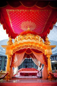 Inside of a Gurudwara
