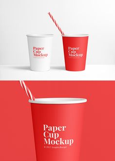 Friends! Create professional presentations for your logo designs, patterns and more with this beautiful and elegant Paper Cup PSD MockUp. You can change the background color and remove the straw, because the PSD file contains separated objects and shadows. Hope you find it useful!
