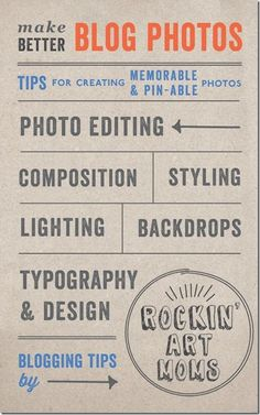 IMPROVE YOUR BLOG DESIGN So It's More Appealing To Your Readers... -  Make Better Blog Photos Series