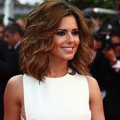 Cheryl Cole 's short layers