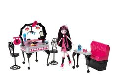 Monster High – Y7719 – Mobilier de Poupée – Draculaura Diner d'enfer | Your #1 Source for Toys and Games