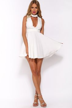HelloMolly | On Point Dress White