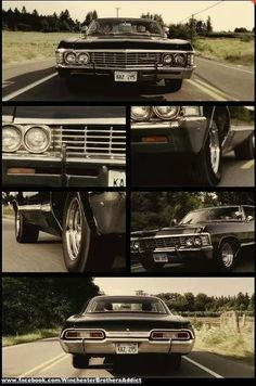 used to be a Mustang girl but now Ive got to say.this Impala has got into my head in a bad way! Or is it who is inside:)I used to be a Mustang girl but now Ive got to say.this Impala has got into my head in a bad way! Supernatural Impala, Supernatural Wallpaper, Supernatural Fandom, Supernatural Bunker, Supernatural Merchandise, Chevrolet Impala 1967, Impala 67, My Dream Car, Supernatural Dean