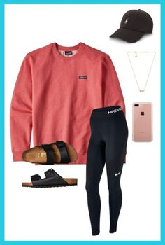 47 high cute outfits fashion half short - Sport News Sporty Outfits For Women, Cute Lazy Outfits, Teenage Outfits, Cute Outfits For School, Teen Fashion Outfits, Outfits For Teens, Look Fashion, Sport Outfits, Trendy Outfits