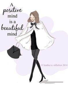 Positive is beautiful