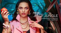 We get wild with the new collection of Kiko, Jelly Jungle Mascara, Jewel Of The Seas, Indian Jewellery Online, Jewelry Auctions, Silver Engagement Rings, Cremation Jewelry, Facial Treatment, Jewellery Display, Gold Jewellery