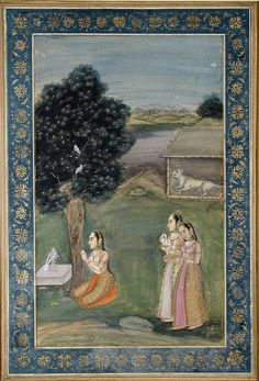 Bhairavi Ragini of Bhairava.   Creation Date: ca. 1780  Edwin Binney 3rd Collection,  The San Diego Museum of Art