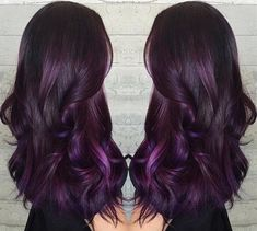 Do you want dark purple hair color? We have pictures of Amazing Dark Purple Hair Color Ideas that will inspire the purple diva in you!