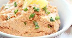 Salmon Salad, Food And Drinks, Salmon Salad. Pureed Food Recipes, Fish Recipes, Snack Recipes, Cooking Recipes, Tapas, I Love Food, Good Food, Yummy Food, Homemade Recipe Books