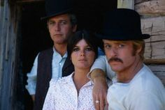Paul Newman, Katharine Ross e Robert Redford