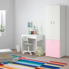 schubladenschrank rosa - Suchen - IKEA Baby Room Furniture, Wardrobe Furniture, Clothes Rail, Hanging Clothes, Childrens Storage Units, Ikea Stuva, Ikea Ikea, Soft Closing Hinges, Frame Shelf
