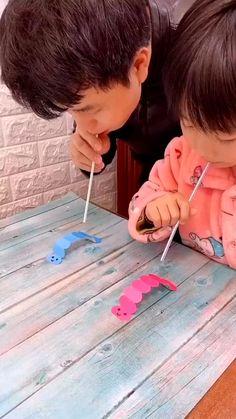 Craft Activities For Kids, Preschool Crafts, Toddler Activities, Projects For Kids, Diy For Kids, Kids Fun, Time Kids, Creative Ideas For Kids, Good Ideas