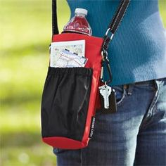 Go Caddy Perfect fit for a water bottle and other travel essentials (Water Bottle Carrier) Water Bottle Carrier, Water Bottle Holders, Bottle Bag, Glasgow, Edinburgh, Inverness, Aberdeen, Backpack Hacks, Pet Carriers