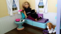 American Girl Doll Crafts and Fun!: Craft: Make a Doll Chaise Lounge Chair