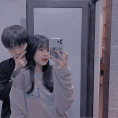 Ulzzang Couple, Ulzzang Girl, Cute Couples Goals, Couple Goals, Instagram Black Theme, Foto Best Friend, Japonese Girl, Korean Best Friends, Korean Couple