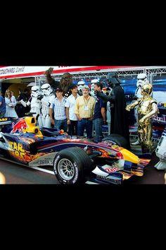 Star Wars race car