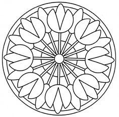 Mándalas para pintar: Mandalas para colorear en fechas especiales | Colorear imágenes