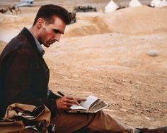 """Ralph Fiennes en """"El Paciente Inglés"""" (The English Patient), 1996"""