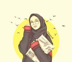 Hijabers fanart - 2 - Page 3 - Wattpad Muslim Girls, Muslim Couples, Hijab Drawing, Image Citation, Islamic Cartoon, Profile Pictures Instagram, Anime Muslim, Hijab Cartoon, 2 Logo