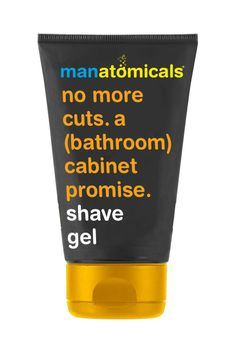 No more cuts. A (bathroom) cabinet promise. Shave gel. - live, breathe, sleep anatomicals