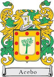 heraldica de apellidos ACEBO