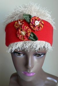 Snowbird's headband - no kntting, just sewing, but I know a little girl who'd love this