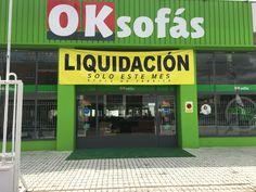 OkSofás Valladolid en liquidación de stock de fábrica sólo este mes. ¡Aprovecha el momento!