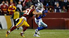 """Dallas Cowboys tight end Jason Witten becomes just the 12th player in NFL history with 1,000 or more receptions with a grab in the second quarter of """"Monday Night Football."""""""