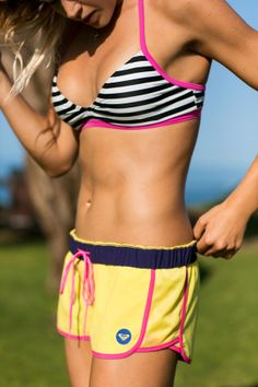 Our #EarthDay pick is the #ROXYOutdoorFitness Line Up Recycled Boardshorts made with REPREVE