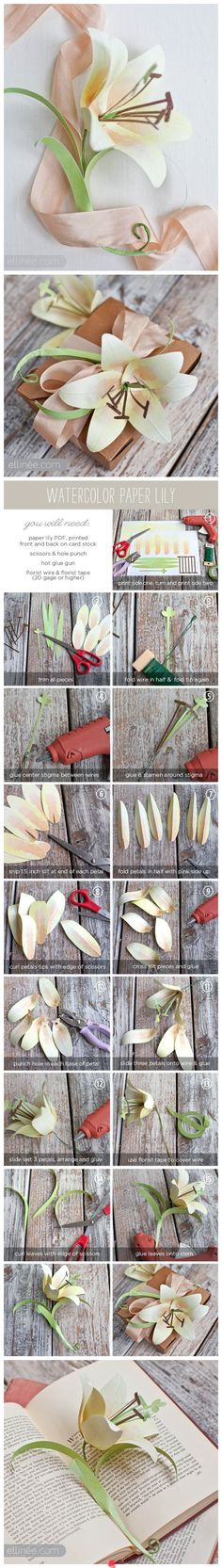 DIY Gorgeous flower wrapping ~ detailed instructions