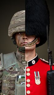 I see this all over my detachment. Military Guard, Military Insignia, British Army Uniform, British Soldier, Military Photos, Military History, British Armed Forces, Royal Marines, Army & Navy