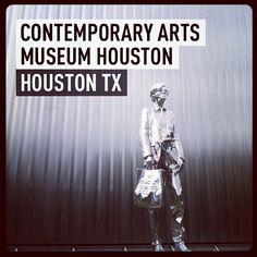 Contemporary Arts Museum Houston #museumdistrict #houston #followthelion