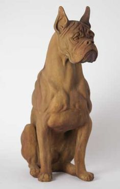 Boxer Dog Statuesgarden