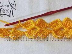 Layered 12 Petals Crochet Flower For Dec - maallure Crochet Blanket Edging, Baby Afghan Crochet, Crochet Borders, Crochet Diagram, Crochet Motif, Crochet Flowers, Crochet Lace, Crochet Patterns, Crochet Cord