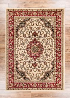 Le Medallion Ivory Persian Fl Oriental Formal Traditional Area Rug 8x10 8x11 7 10 X 9 Easy To Clean Stain Fade Resistant Shed Free Modern
