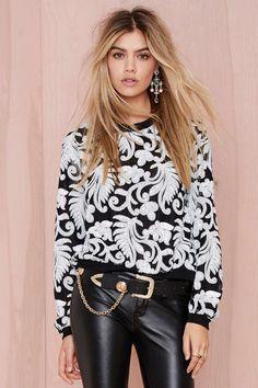 Jessa Sequin Sweatshirt