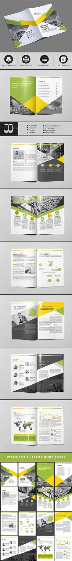 Company Profile   Company profile, Corporate brochure and Brochures