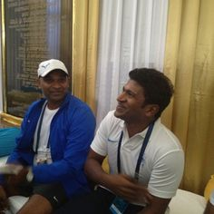 Superstar Puneeth shares a candid moment at the #TCSWorld10K