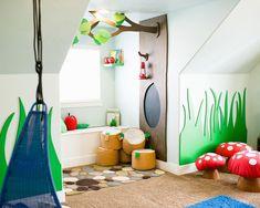Babyzimmer wald ~ Kinderzimmer wald dekoration bigschool kinderzimmer wald