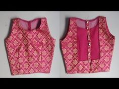 DIY Designer BLOUSE/CHOLI cutting and Stitching full tutorial//one tuks blouse - YouTube