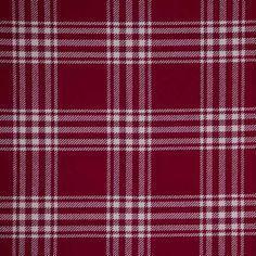 Tablecloth, Red and Cream Plaid | Linen Effects wedding, party, and event rental décor. Minneapolis, MN www.lineneffects.com