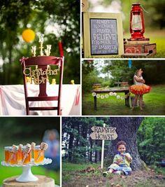 Winnie the Pooh Birthday Party with Lots of Really Cute Ideas via Kara's Party Ideas   KarasPartyIdeas.com #PoohBear #HundredAcreWoods #PartyIdeas #S...