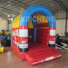 inflatable firefighting bounce