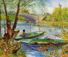 El Spleen de París • Vincent van Gogh: Pescando en primavera, 1887.