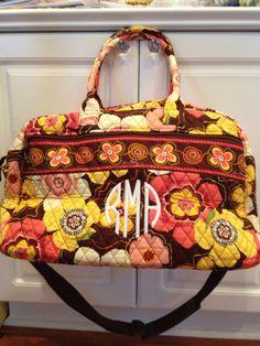 Vera Bradley travel bag!