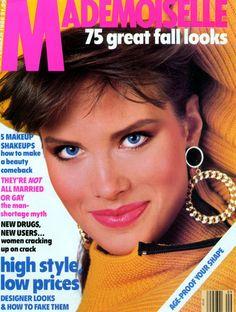 MONIKA SCHNARRE    MADEMOISELLE SEPTEMBER, 1986 COVER