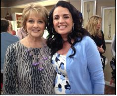 TV host Cristina Ferrare wearing yet another ML Accessories by Monique Leshman necklace on the Hallmark channel's Home & Family. Such an awesome piece!