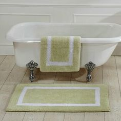 Better Trends Hotel Bath Rug Size: x Color: Sand Small Bathroom With Shower, Small Bathrooms, Gray Shower Curtains, Bathroom Paint Colors, Bath Mat Sets, Bath Rugs, Rug Size, Bed Linen, Trends