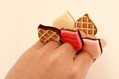 RIng - Sweet Gelato Ice Cream Cone Ring