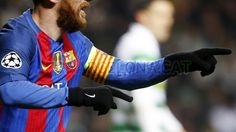 The King, Lio Messi en el Celtic 0-2 FC Barcelona 23.11.16